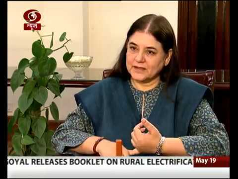 Interview with Union Minister Maneka Gandhi