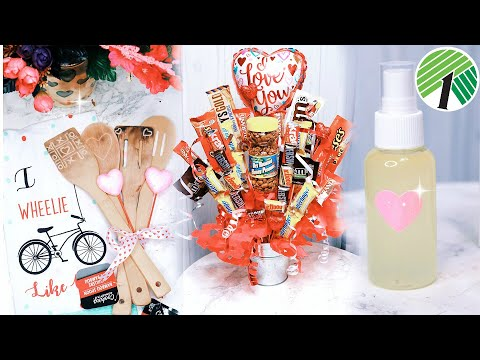 Valentine's Day Gifts They Actually Want! DOLLAR TREE DIYS + Easy Unique Gifts To Buy