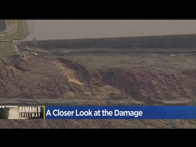 A Closer Look At The Damage From To The Oroville Dam Spillway