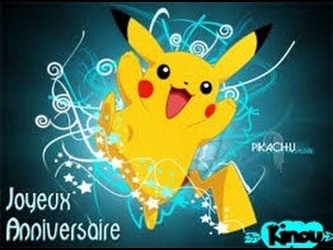 Joyeux Anniversaire Mon Titi Pokemon Youtube