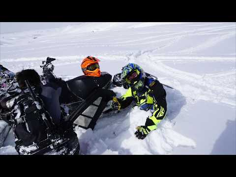 Wyoming Snowmobiling Trip 2019 (Togwotee)