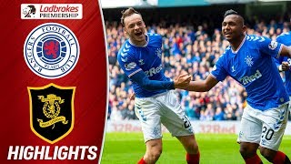 Rangers 3-1 Livingston | Kent Injured on Return as Morelos Strikes Again | Ladbrokes Premiership