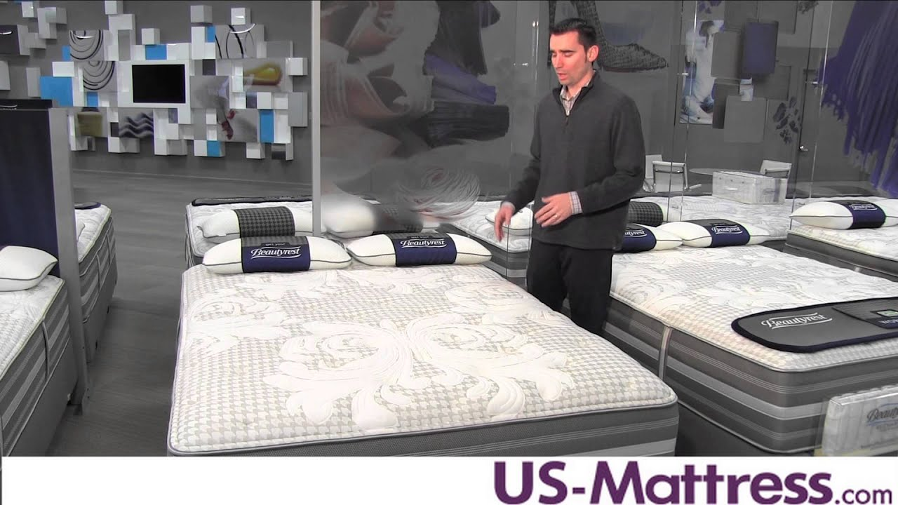 simmons beautyrest recharge world class rory luxury firm mattress youtube