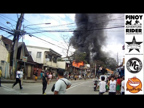 Fire in Parang, Marikina [1.25.18]
