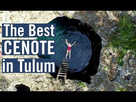 Tulum Mexico - NATURE RESERVE & CENOTE CALAVERA - TRAVEL VLOG