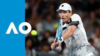 Tomas Berdych v Diego Schwartzman match highlights (3R)   Australian Open 2019