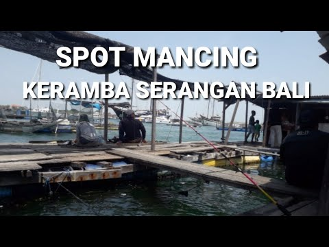 SPOT MANCING DI KERAMBA PANTAI SERANGAN BALI