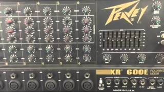 AELF-514  Peavey XR600E and Peavey 115DL