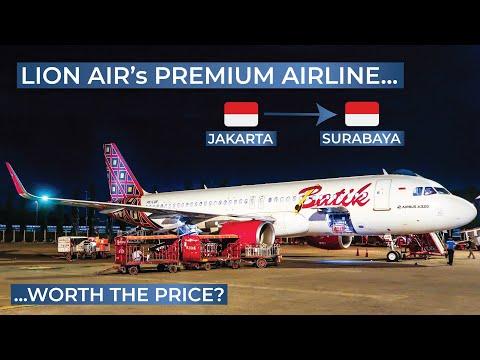 TRIPREPORT | Batik Air (ECONOMY) | Airbus A320 | Jakarta - Surabaya