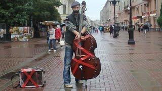 �������� ���� Арбат замолчал. Флэшмоб уличных музыкантов. ������