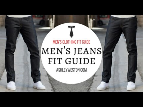 b4d983ae44d Men s Jeans Fit Guide - Men s Clothing Fit Guide - Denim Selvedge Selvage -  YouTube