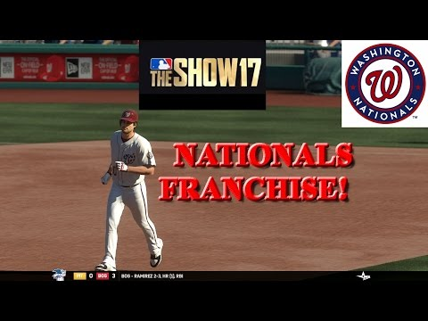 MLB The Show 17 Nationals Franchise - #2 MISSED OPPORTUNITIES!