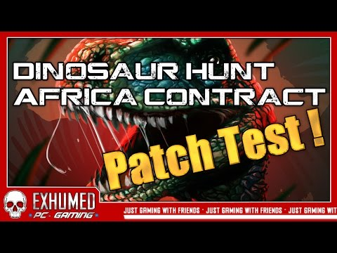Dinosaur Hunt: Africa Contract - Patch Test auf Wunsch des Developers