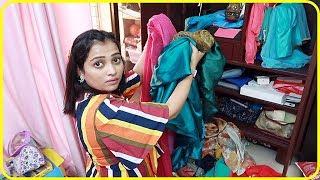 Maine Apni sarees Ke Sath Dekho Kya Kiya_Indian Mom On Duty Vlogs