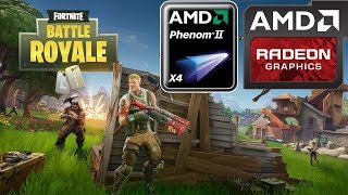 Fortnite - Battle Royale (HD 7850/R7 265/R7 370 | Phenom II X4) [Medium/60]