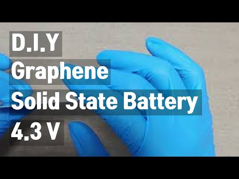 solid state battery: 4.3 V