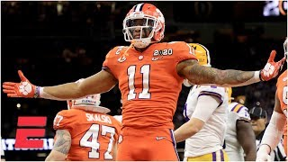 Isaiah Simmons' college football highlights | Clemson OLB | 2020 NFL Draft
