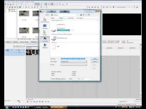 как выставить длительность кадра или фото в Sony Vegas Pro 8 9 10 для лего мультиков