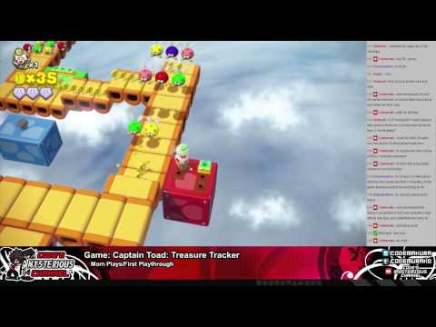 Mom Plays: Captain Toad: Treasure Tracker Ep.11 -- High Speed Toad