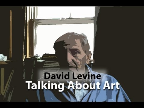 David Levine Talking About Art
