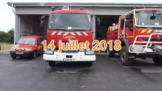 Pompiers 14 juillet 2018