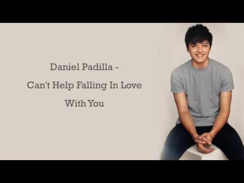 Can't help falling in love by Daniel Padilla