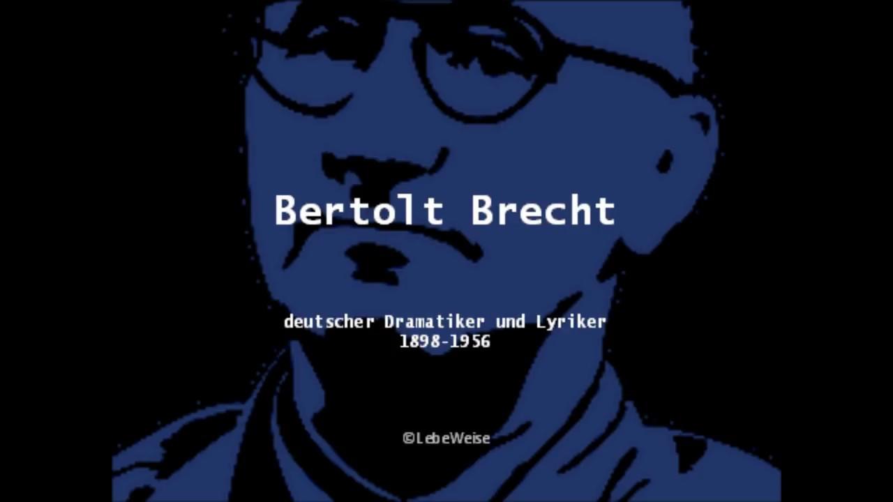Bertolt Brecht Die 10 Besten Zitate Und Gedichte