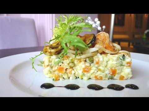 Салат оливье от шеф-повара фото