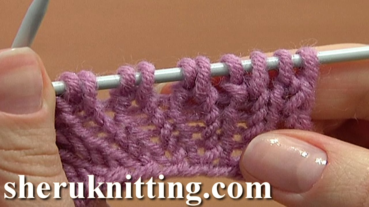 Increasing Stitches Knit Stitch On Row Below Tutorial 8 Method 4 Of