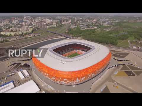 Russia: See drone footage of Saransk's Mordovia Arena for WC2018