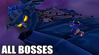 Sly 2: Band of Thieves HD - All Bosses (With Cutscenes)