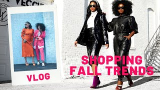 FALL 2019 ZARA, H&M, TOPSHOP, SAKS TRY-ON | COME SHOP WITH US | FALL FASHION TRENDS | THE YUSUFS