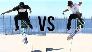 Skater VS Filmer Game of  S.K.A.T.E. !