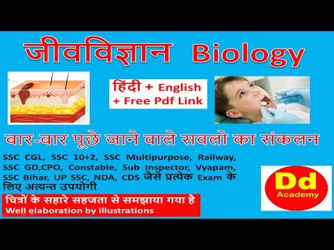 expected MCQ on Biology in Hindi