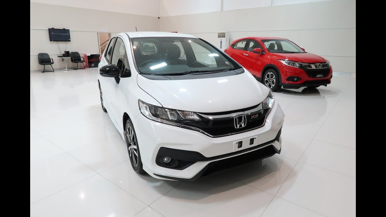 Honda Jazz Rs 2019 Warna Putih White Review Indonesia Youtube