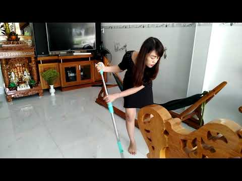 Morning Routine - Beautiful Mom Clean the House