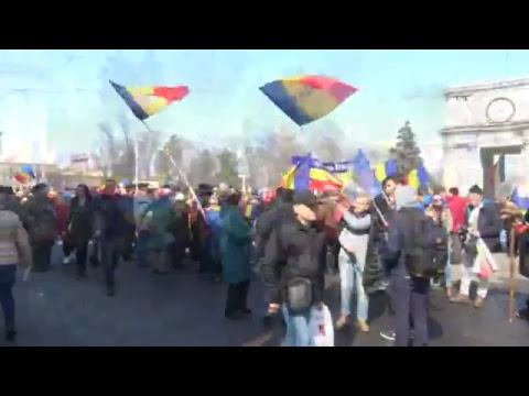 Marea Adunare Centenară din Chișinău - 25 martie 2018