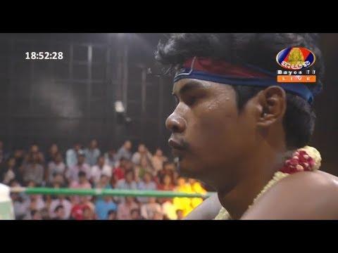 ឡៅ ចិត្រា Lao Chetra Vs (Thai) Senchheunglek Tor.Lakchai , Bayon TV Boxing, 22/April/2018