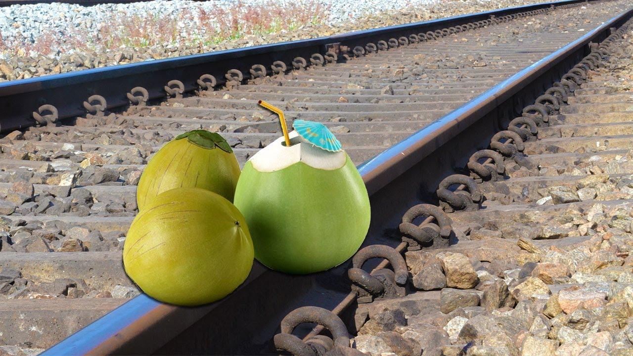 Train Vs Tender Coconut Test