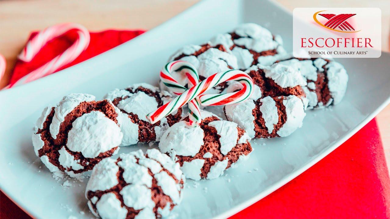 How To Make Chocolate Crinkle Cookies - YouTube