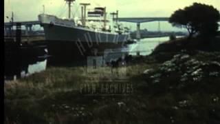 Liverpool Docks, 1960