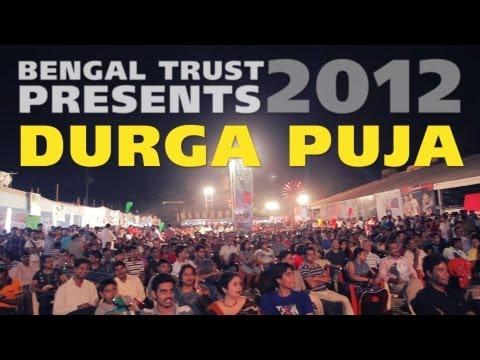 Bengal Trust's Vashi Durga Puja 2012 Feat ShahRukh Khan, Sonu,Shreya,Sunidhi
