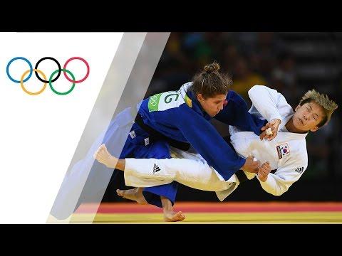 Argentina's Paula Pareto wins Gold in Women's 48kg Judo