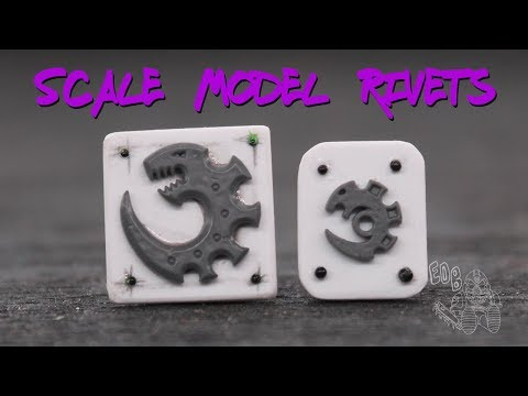 How to Make Scale Rivets