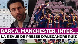 📰 Barcelone, Manchester, Inter Milan, Liverpool,... La revue de presse du jour par Alexandre Ruiz