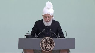 Проповедь Хазрата Мирзы Масрура Ахмада (13-11-2020)