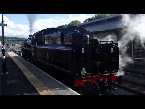 North Yorkshire Moors Railway Class 4MT Train Coupling