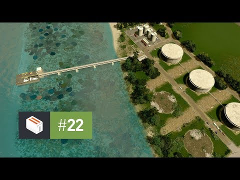 Cities Skylines: Seenu — EP 22 — Harbor Fueling Station