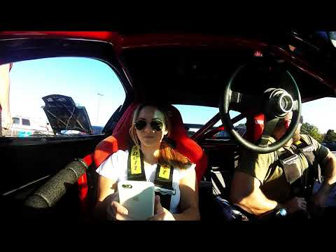 Turbo 4 Rotor RX7 Taking my little sister Isabella Mazzei for a ride!