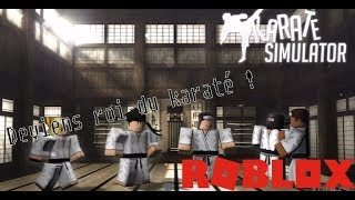 Become king of karate! KARATE SIMULATOR Roblox!